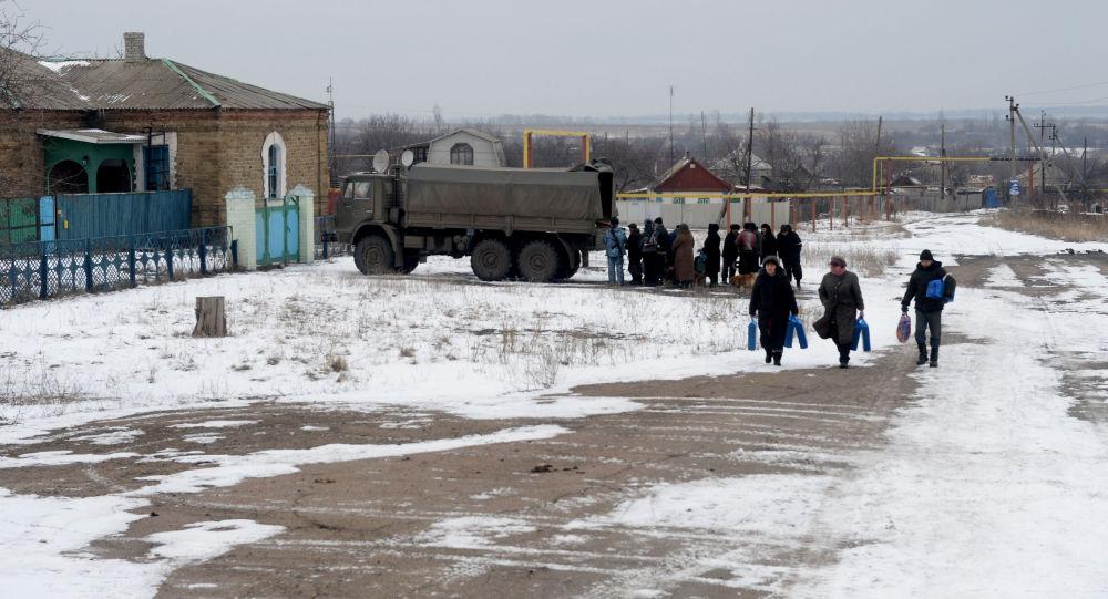 Ukraina. Zima