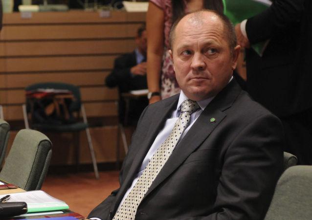 Minister Rolnictwa i Rozwoju Wsi Rzeczypospolitej Polskiej Marek Sawicki