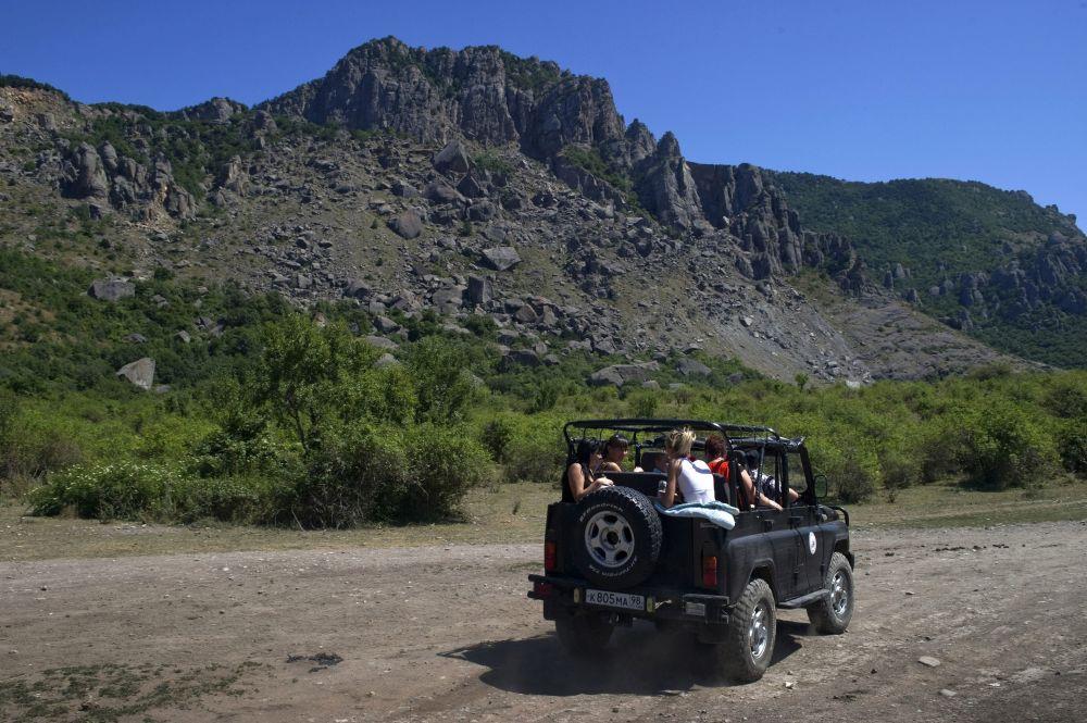 Okolice góry Dmierdży na Krymie