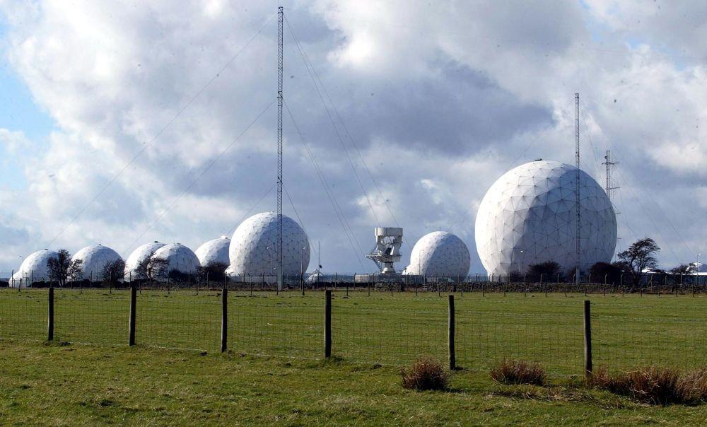 Stacja sił lotniczych Wielkiej Brytanii (Royal Air Force) w North Yorkshire