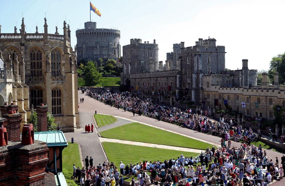 Kaplica Św. Jerzego na zamku królewskim w Windsorze