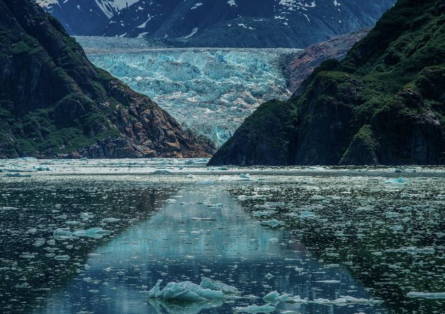 Alaska, Lodowiec Sawyer Glacier
