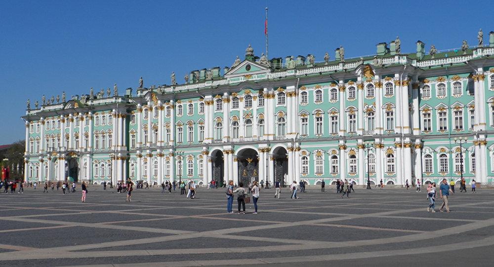 Pałac Zimowy. Sankt Petersburg.