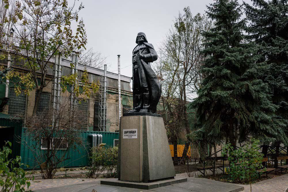 Odessa, 21.11.2015r. W poszukiwaniach Lenina
