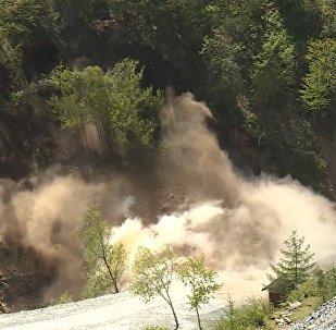 Korea Północna powiadomiła o pełnym zburzeniu  poligonu jądrowego w Punggye-ri