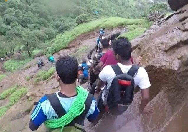 Schody w Indiach