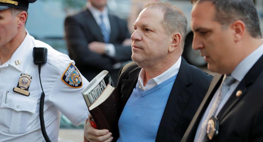Hollywoodzki producent filmowy Harvey Weinstein