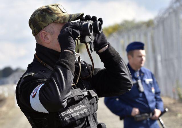 Polska straż graniczna