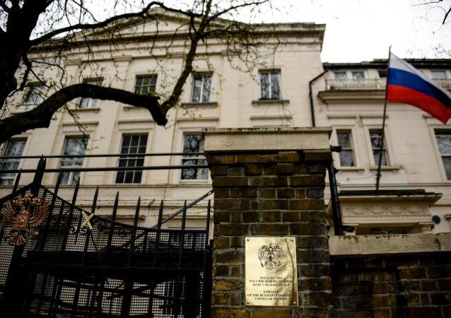 Budynek ambasady FR w Londynie