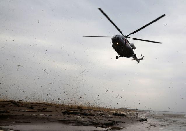 Śmigłowiec MSN Mi-8. Zdjęcie archiwalne