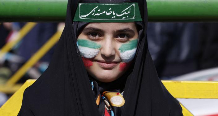 Obchody 39. rocznicy rewolucji islamskiej w Teheranie