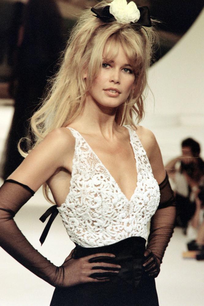Modelka Claudia Schiffer