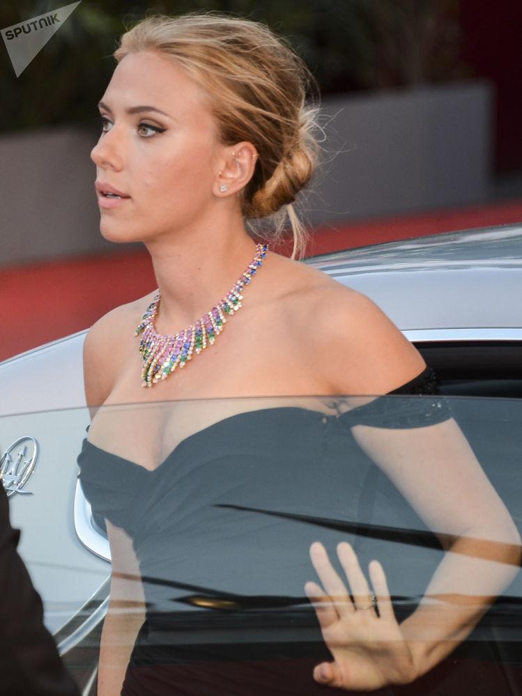 Aktorka Scarlett Johansson
