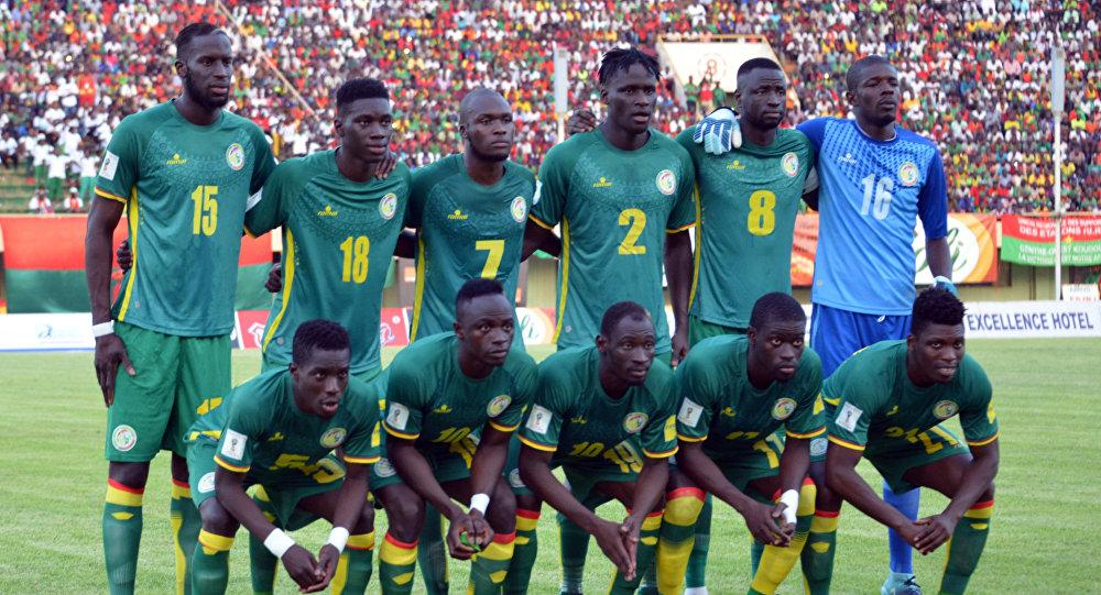 Piłkarze z Senegalu