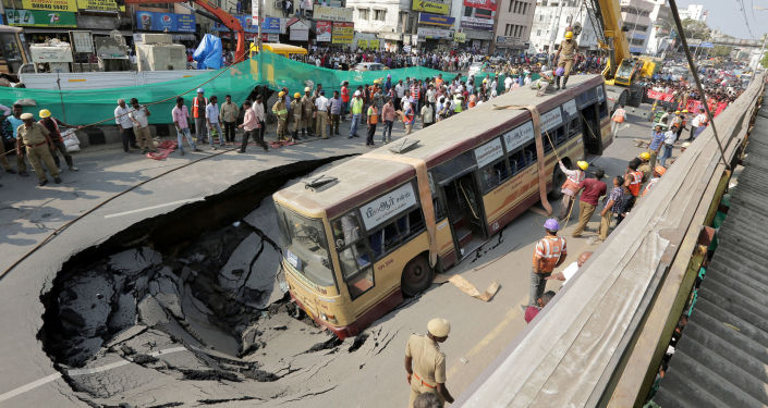 Wypadek w Indiach