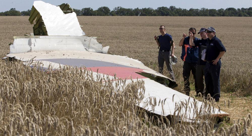 Niemieccy eksperci na miejscu katastrofy MH17