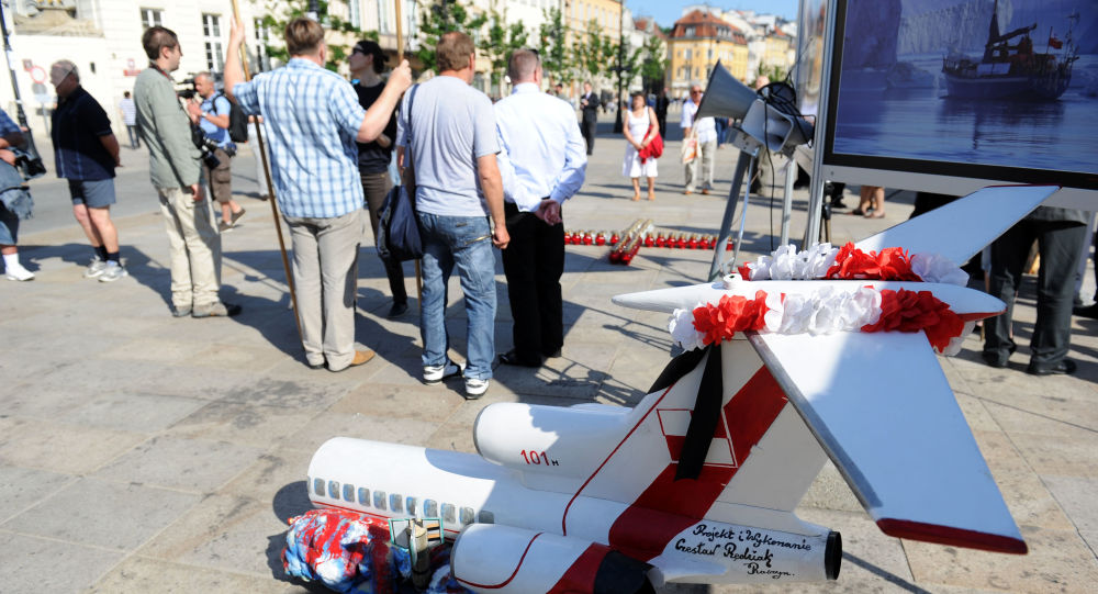 Miting ku pamięci ofiar katastrofy smoleńskiej