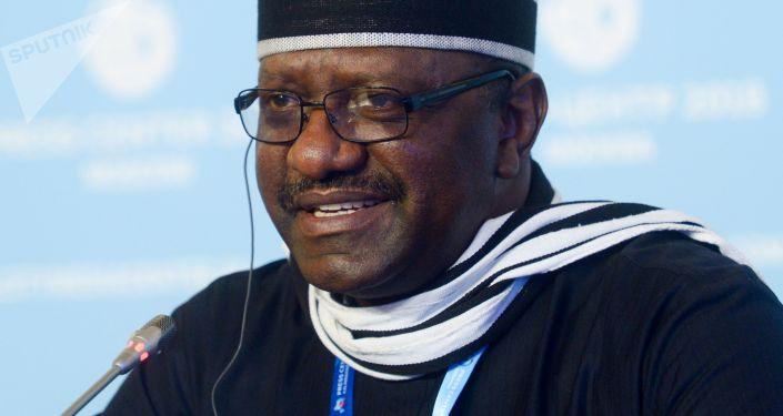 Ambasador Nigerii w Rosji Steve Davies Ugba