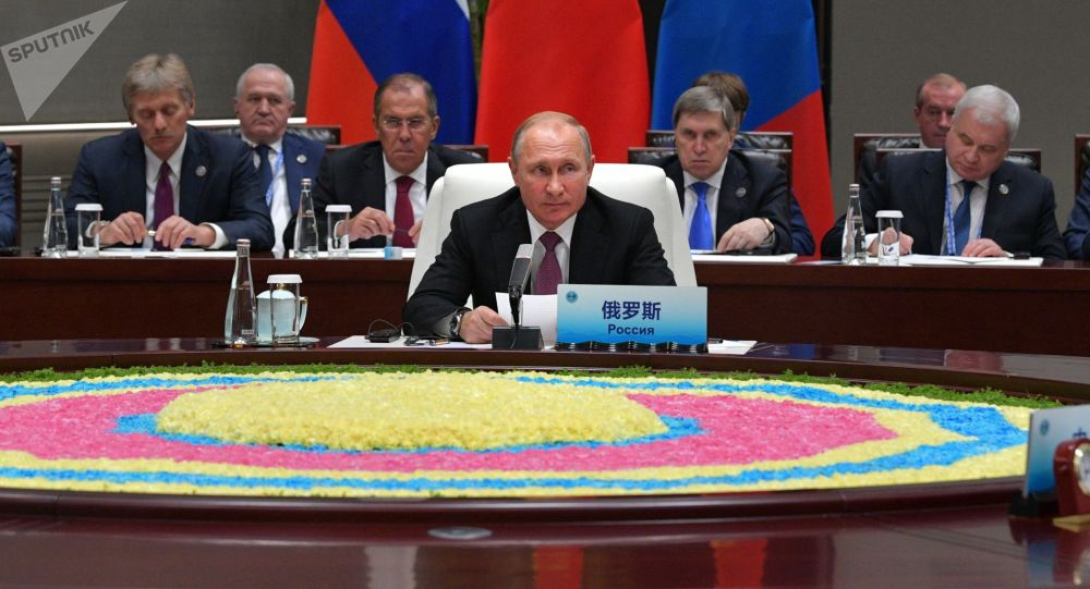 Władimir Putin na szczycie SOW