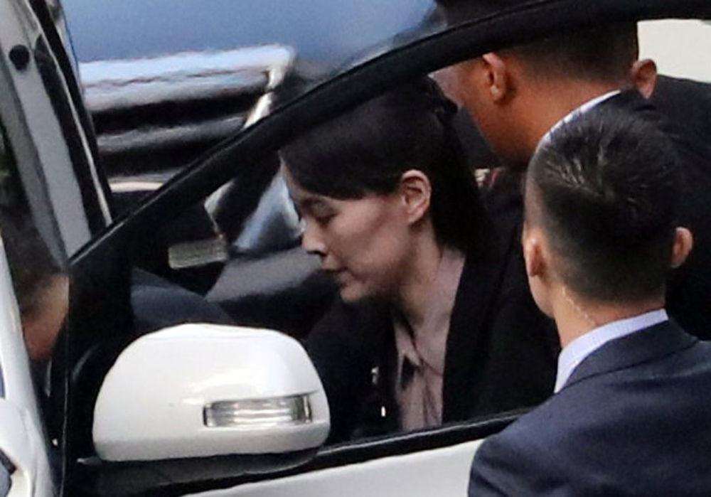 Siostra przywódcy KRLD Kim Yo Jong w Singapurze