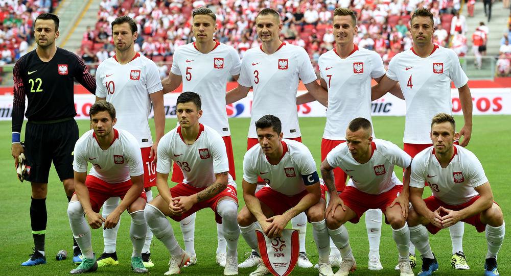 Reprezebtacja Polski w piłce nożnej podczas meczu z Litwą, Warszawa 12 czerwca 2018 rok