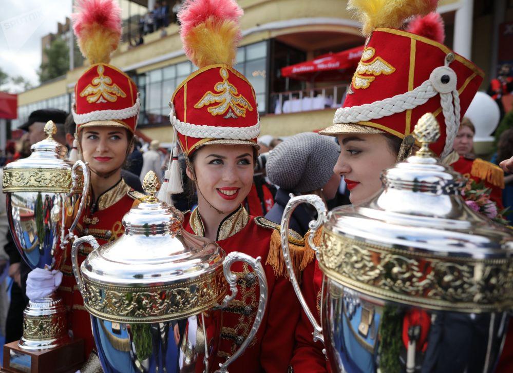 Puchary zwycięzców wyścigów o Nagrodę Prezydenta Federacji Rosyjskiej 2018 na Centralnym Moskiewskim Hipodromie