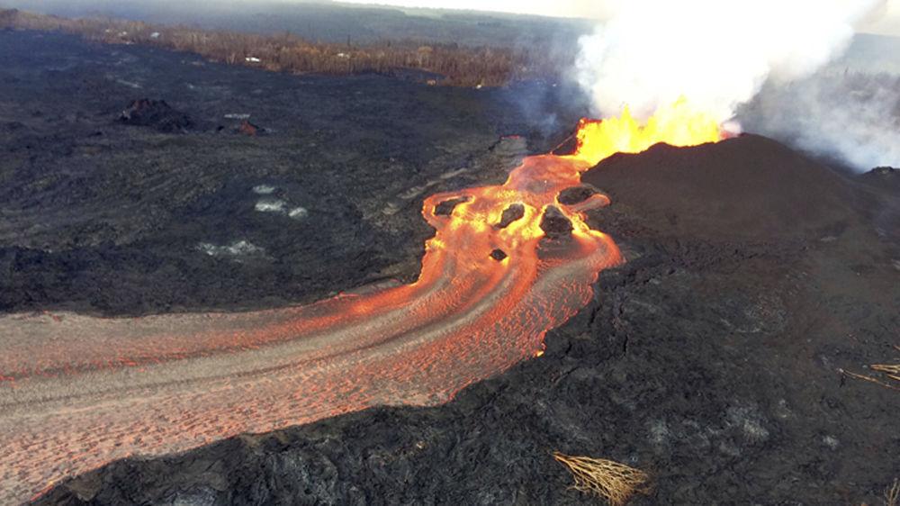 Erupcja wulkanu Kilauea na Hawajach