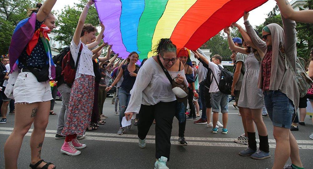 Parada równości w Kijowie