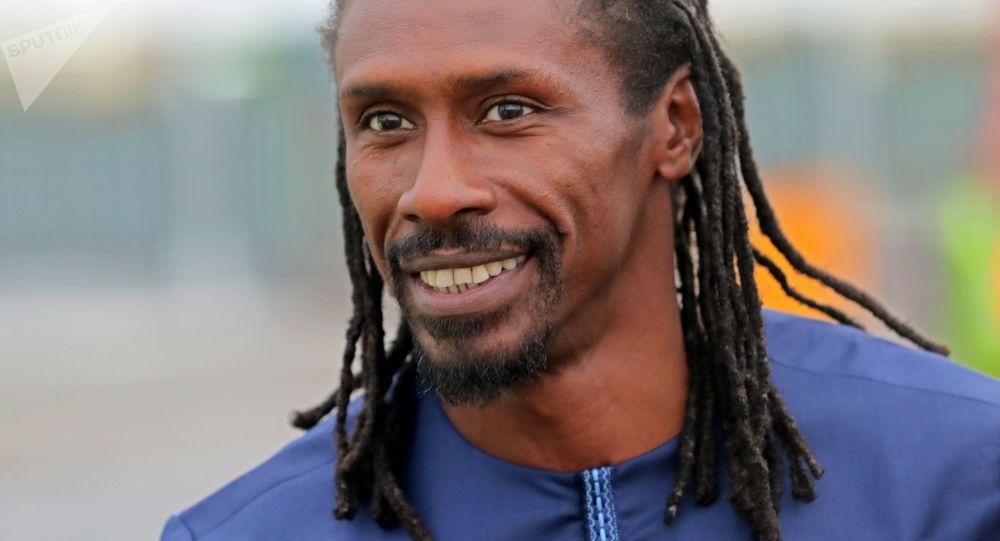 Główny trener reprezentacji Senegalu Aliou Cissé