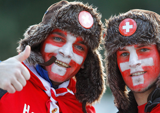 Szwajcarsy kibice