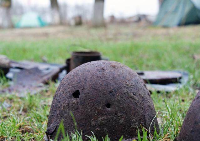 Artefakty wojskowe z czasów II wojny światowej