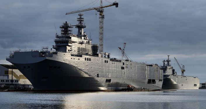 Okręt desantowy typu Mistral Sewastopol