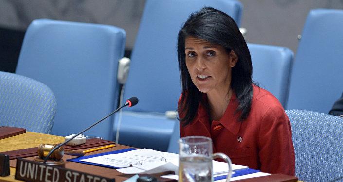 Stały przedstawiciel USA przy ONZ Nikki Haley