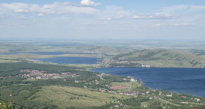 Jeziora Bannoje i Szuczie w Baszkortostanie