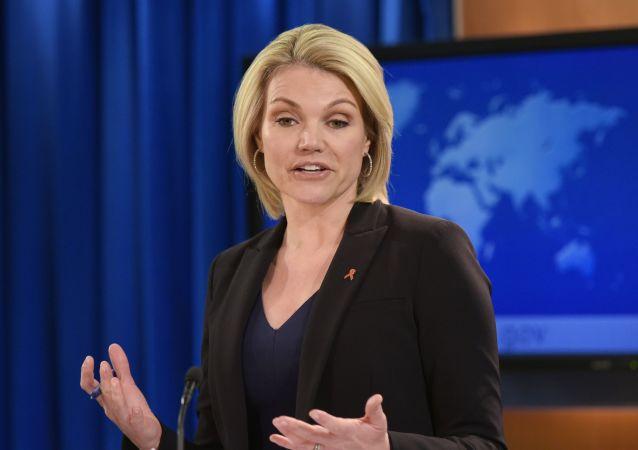 Rzeczniczka Departamentu Stanu, Heather Nauert