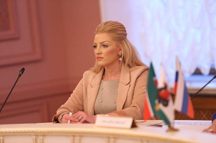 Dyrektor kazańskiego Komitetu ds. Rozwoju Turystyki Daria Sannikowa