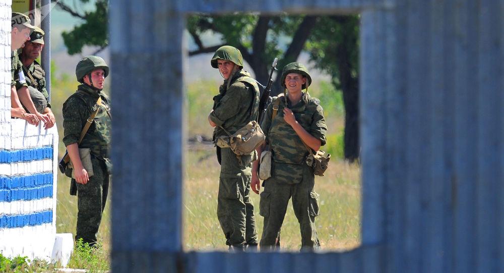 Szkolenia rosyjskich wojsk w Naddniestrzu