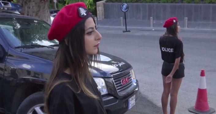 Policjantki w Libanie
