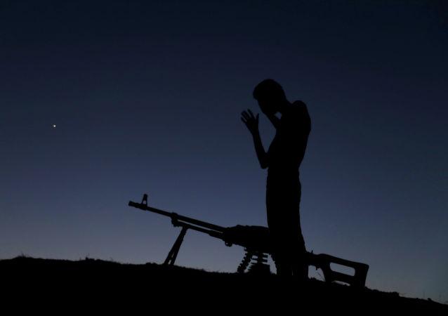Żołnierz Wolnej Armii Syrii