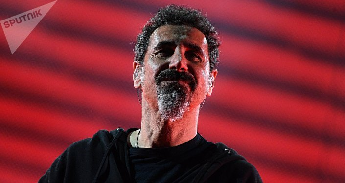 System Of A Down (SOAD) singer Serj Tankian. File photo