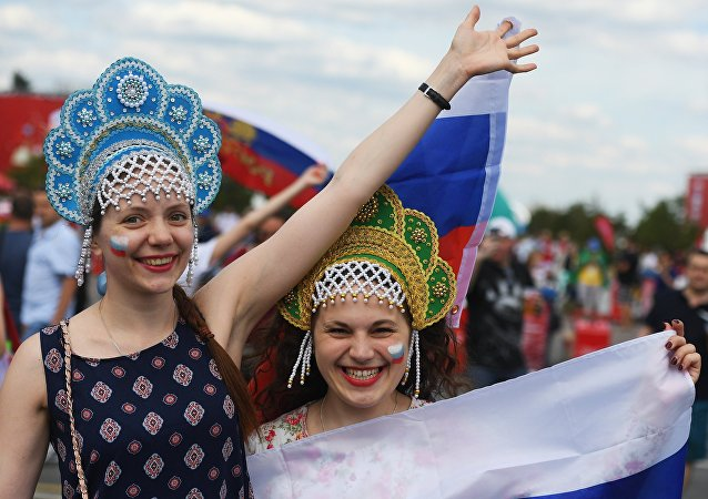 Kibicki reprezentacji Rosji na MŚ 2018