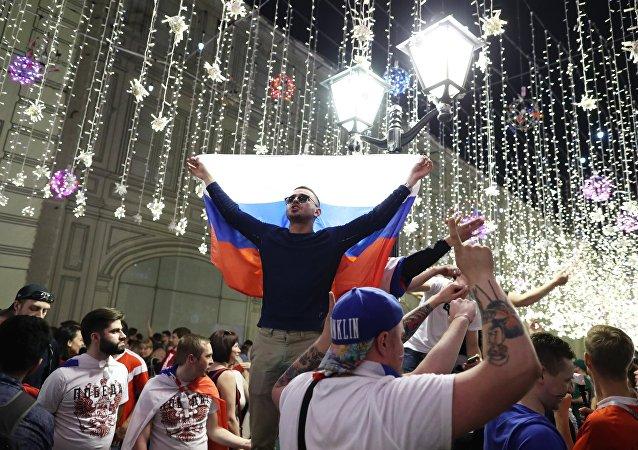 Kibice MŚ 2018 w Rosji