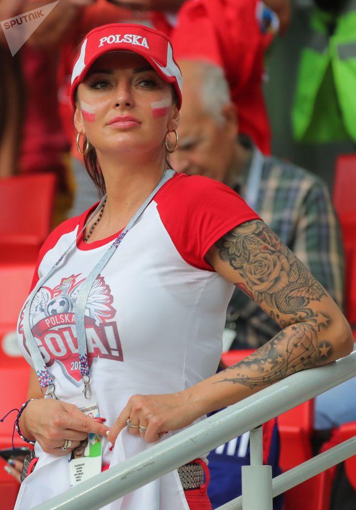 Polska dziewczyna w Moskwie