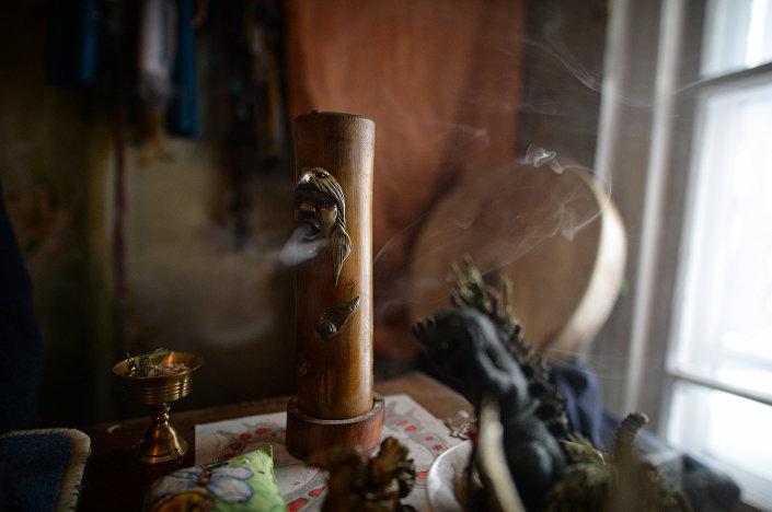 Atrybuty szamanów w Tuwie
