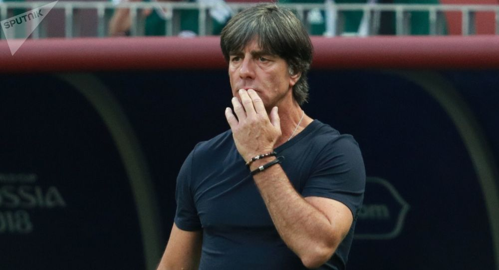Trener reprezentacji Niemiec Joachim Löw