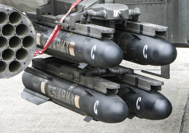 """Amerykański pocisk klasy """"powietrze-ziemia"""" AGM-114 Hellfire"""
