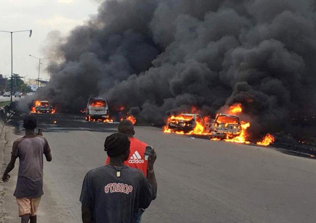 Wybuch cysterny w Nigerii