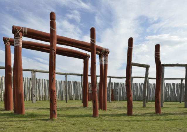 Woodhenge pod Berlinem
