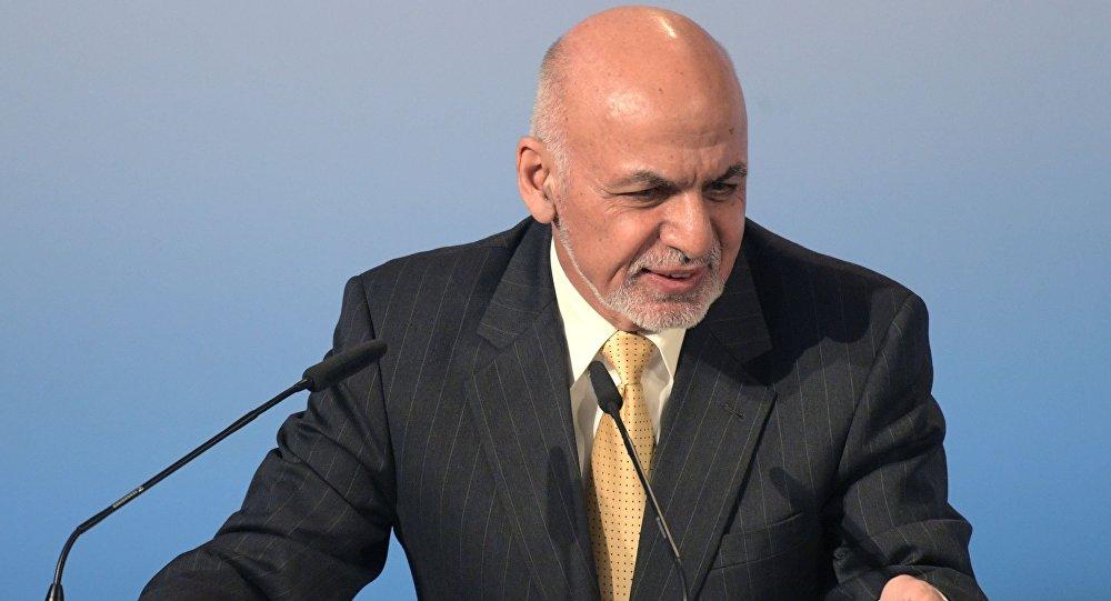 Prezydent Afganistanu Aszraf Ghani