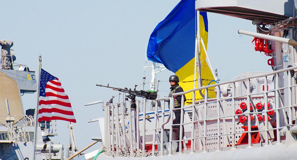 """Amerykańsko-ukraińskie manewry morskie """"Sea Breeze - 2015"""""""